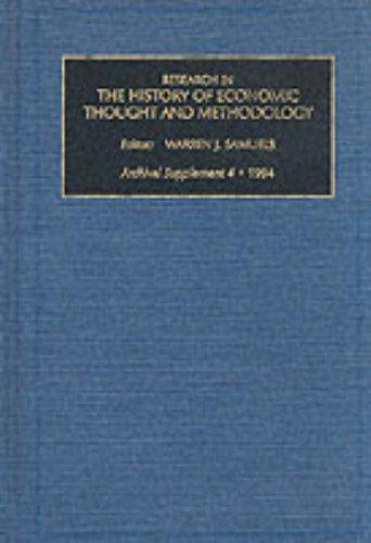 Download Research in the History of Economic Thought and Methodology