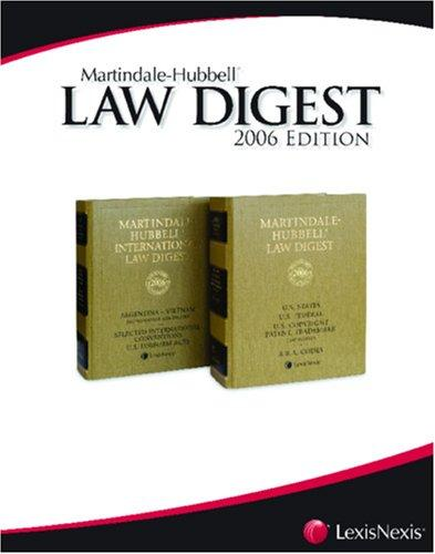 Martindale-Hubbell Law Digest