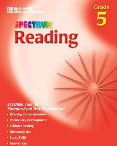 Download Spectrum Reading, Grade 5 (Spectrum)