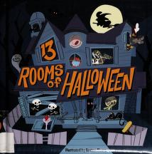 Cover of: 13 rooms of Halloween | Saxton Moore