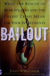 Cover of: Bailout | John M. Waggoner