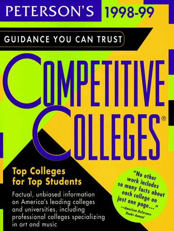 Peterson's Competitive Colleges by Petersons
