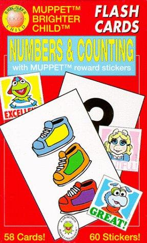 Numbers & Counting/Flash Cards With Muppet Reward Stickers by American Education Publishing